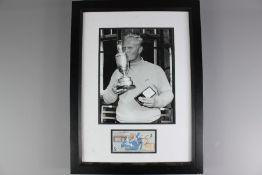 Golfing Interest - Jack Nicklaus Photographic Autograph