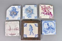 Quantity of 19th Century Ceramic Tiles