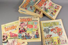 Forty NIne Cheeky Comics 1977-80