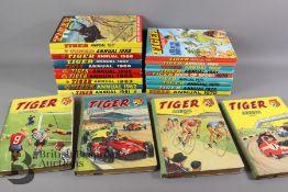 Twenty Three Tiger Annuals Years 1957-87