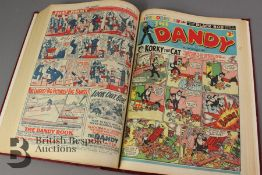 Bound Volume of Year 1956 The Dandy