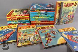 Twenty Five Lion Annuals 1954-1977