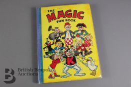 The Magic Fun Book 1942 (Koko supporting a human pyramid)