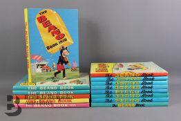 1970-1995 Beano Annuals
