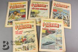 Eighteen Victor Comics Year 1962-1973