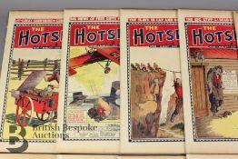 Thirteen Hotspur Comics Year 1937