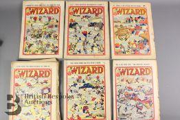 Twenty One Wizard Comics Years 1941-45