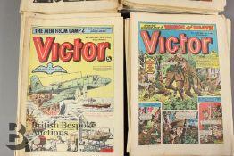 Sixty Two Victor Comics 1976-84