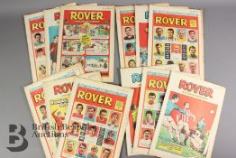 Thirty Five Rover Comics Year 1969