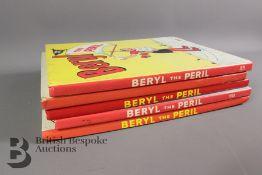 Five Beryl the Peril Annuals