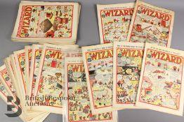Thirty Nine Wizard Comics 1949-1950