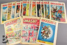 Twenty One Smash Comics Year 1966-71