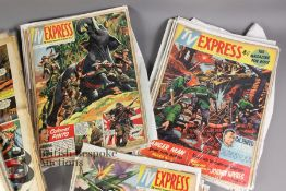 Forty Three Express Weekly and TV Express Comics
