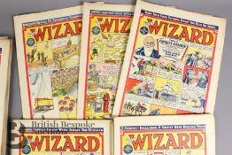 Forty Two Wizard Comics 1950-53