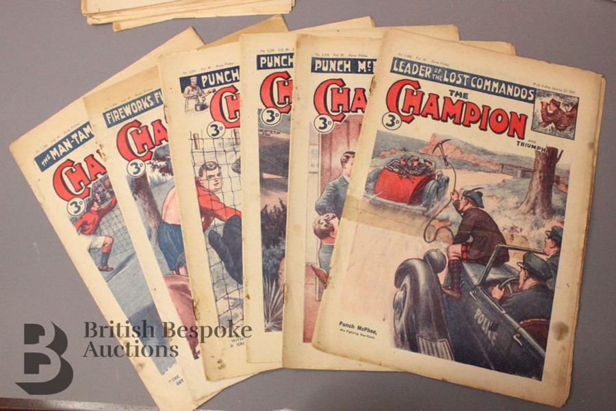 84 The Champion Comic 1945-49 - Image 2 of 4