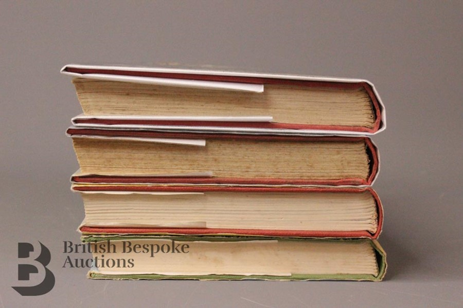 Four Captain W Johns Biggles First Edition with Dust Jackets - Image 8 of 8