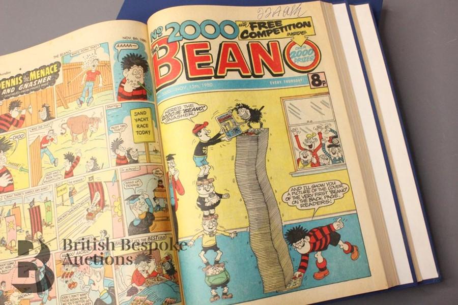 1980 Beano Bound Comics - Image 5 of 5