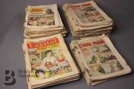 Ninety Six Girls Crystal Comics 1955-58