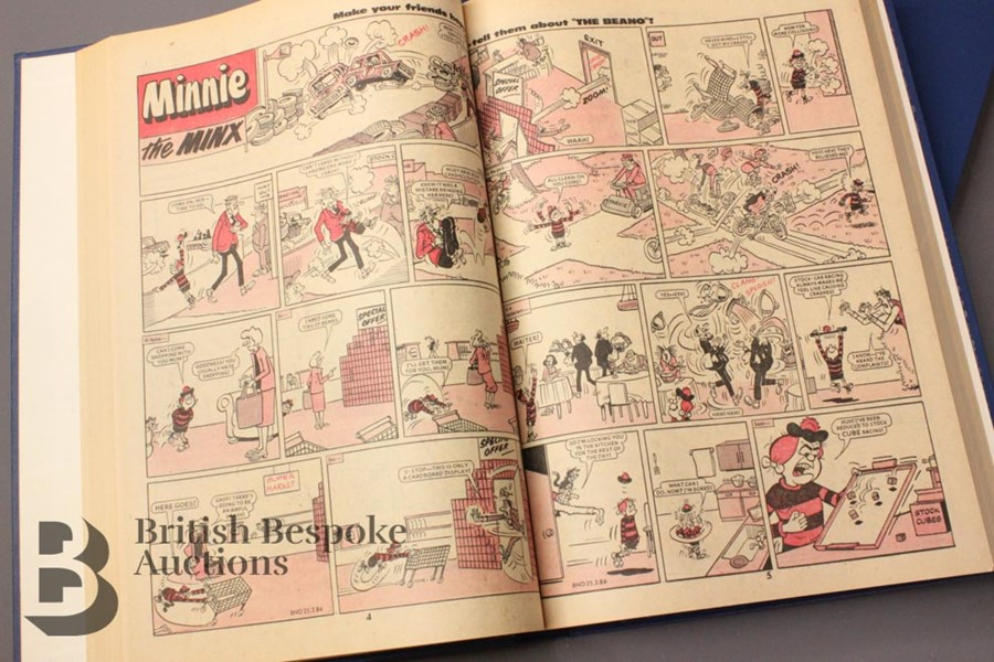 1984 Beano Bound Comics - Image 3 of 4