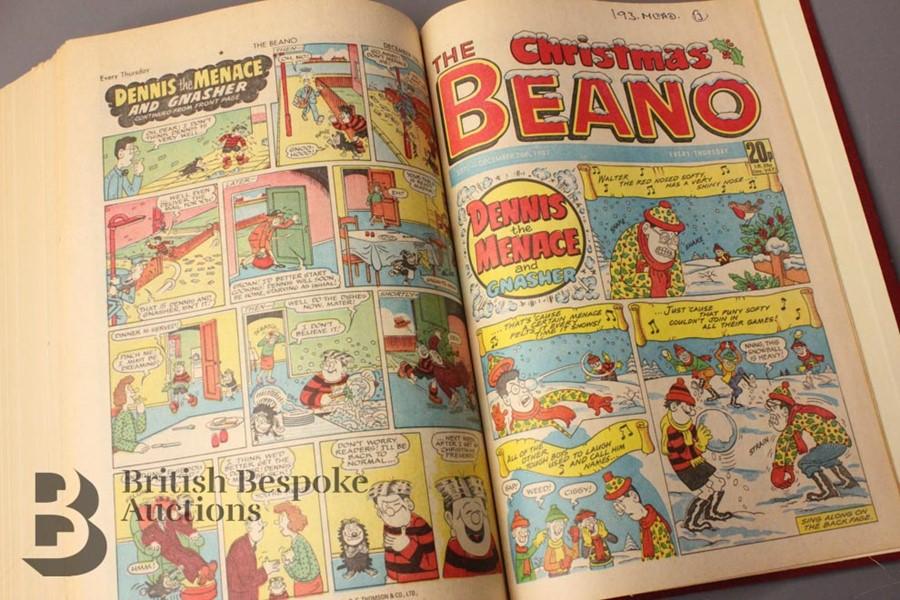 1987 Beano Bound Comics - Image 5 of 5