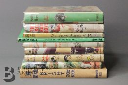 Enid Blyton Nine 1st Editions in Dust Wrappers