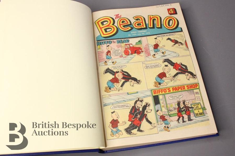 1970 Beano Bound Comics - Image 2 of 4