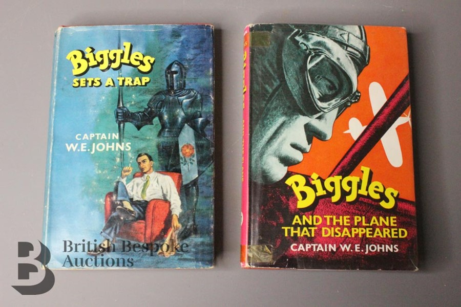 Captain W Johns Two Biggles 1st Edition - Image 2 of 11