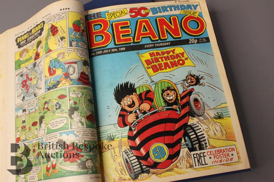 1988 Beano Bound Comics - Image 7 of 7