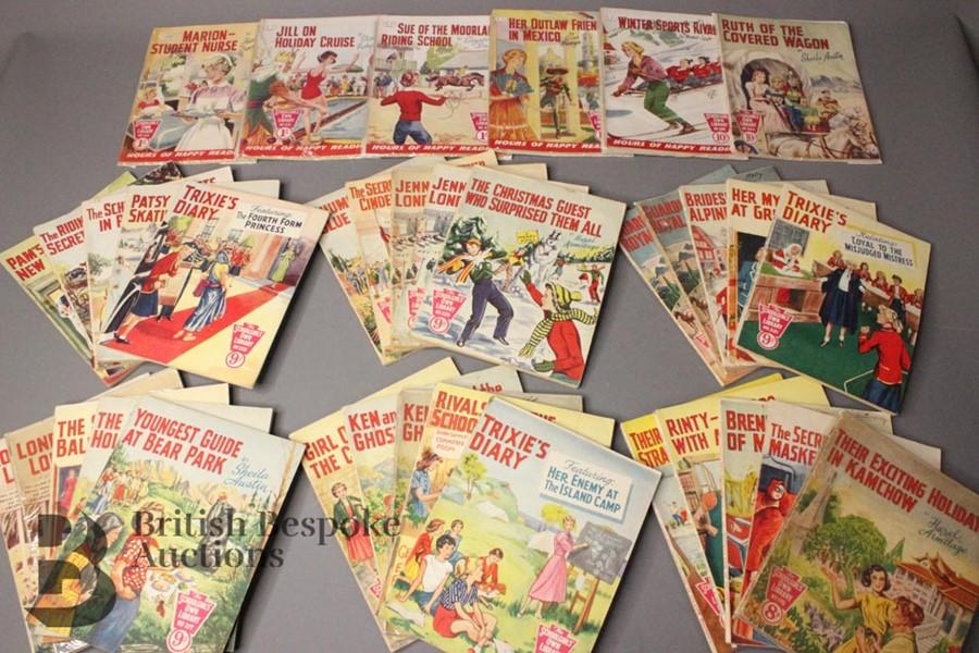 Thirty Six Schoolgirl's Own Library Comic Books nr179-318