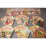 Thirty Six Schoolgirl's Own Library Comic Books nr179-318