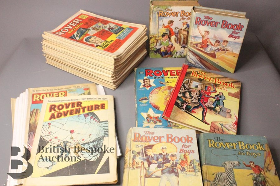 Sixty Seven Rover/Rover Adventure/Rover and Wizard Comics 1962-1972