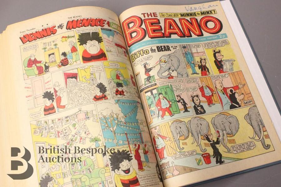 1973 Beano Bound Comics - Image 5 of 5