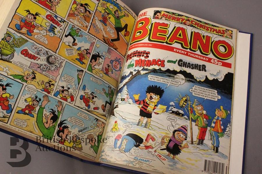 1997 Beano Bound Comics - Image 4 of 4