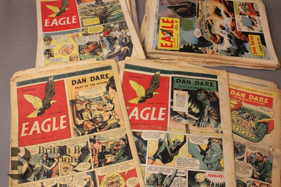 180 Eagle Comics 1950-1966