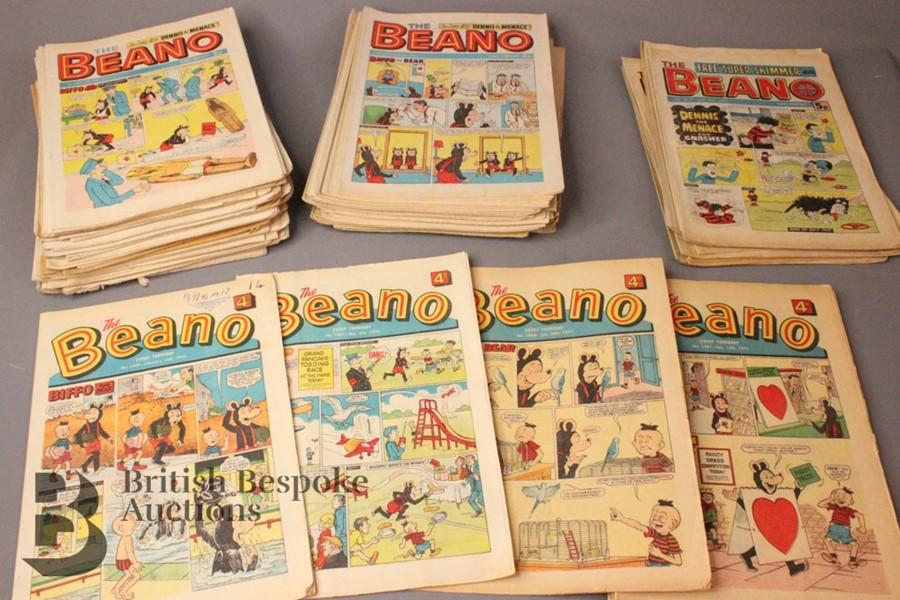 100 Beano Comics 1970-79 - Image 3 of 5