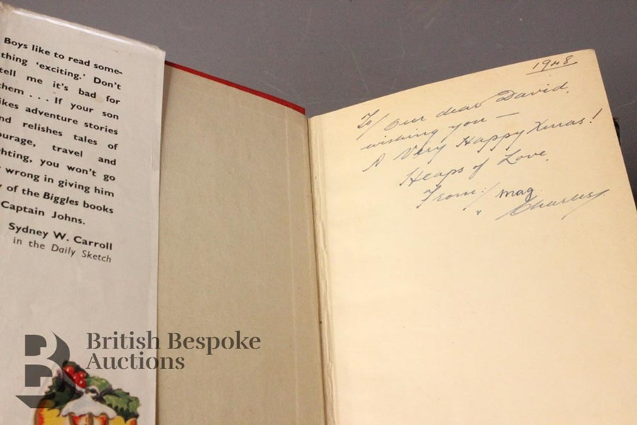 Five W.E Johns Biggles First Editions in Dust Jackets - Image 5 of 8