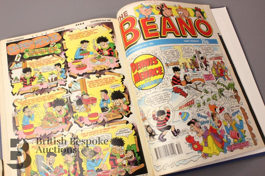 1990 Beano Bound Comics - Image 4 of 4