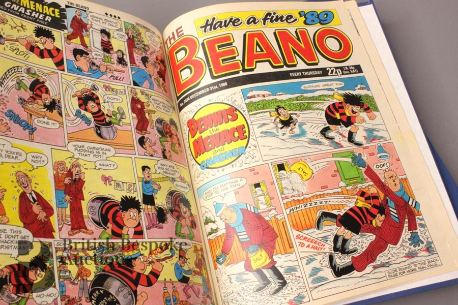 1988 Beano Bound Comics - Image 5 of 7