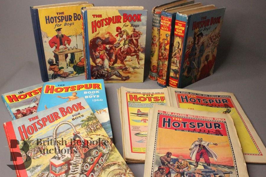 Hotspur Comics 1934-1950 and Twenty Annuals 1939-1988