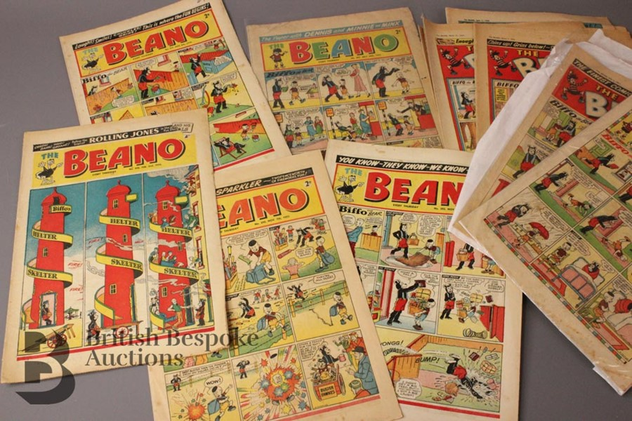 33 1950's Beano Comics