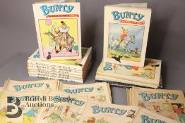 Thirty Eight Bunty Comics 1959-1979 and Eight Bunty Annuals in Dust Jackets
