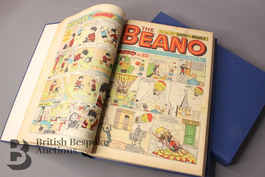 1972 Beano Bound Comics - Image 3 of 7