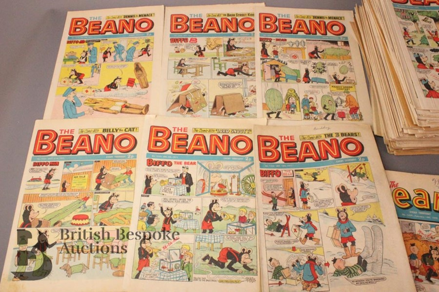 100 Beano Comics 1970-79 - Image 4 of 5