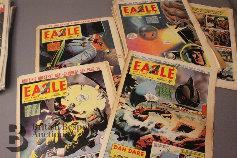 180 Eagle Comics 1950-1966 - Image 5 of 5
