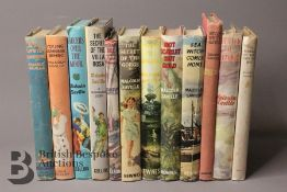 Twelve Malcolm Saville 1st Editions