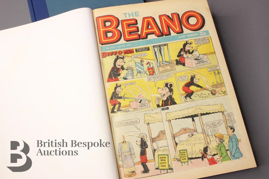 1971 Beano Bound Comics - Image 4 of 5