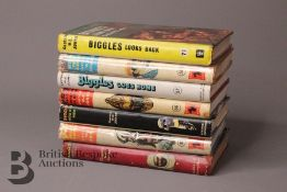 Seven Captain W. Johns Biggles 1st Edition in Dust Jackets