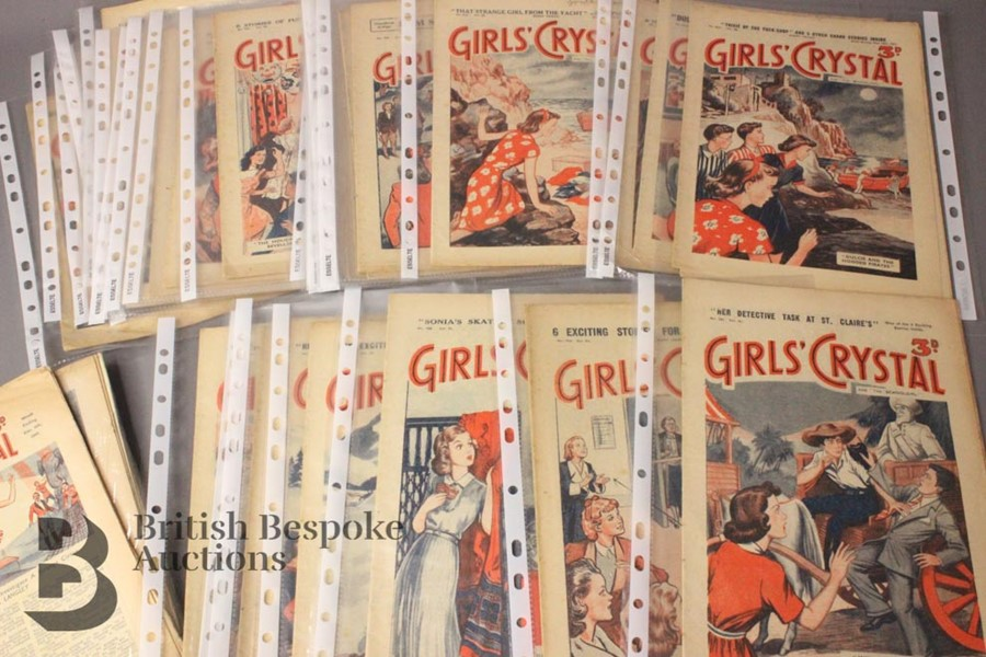 Girls Crystal Papers 1950-1951 - Image 3 of 4