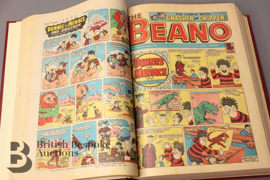 1987 Beano Bound Comics - Image 3 of 5
