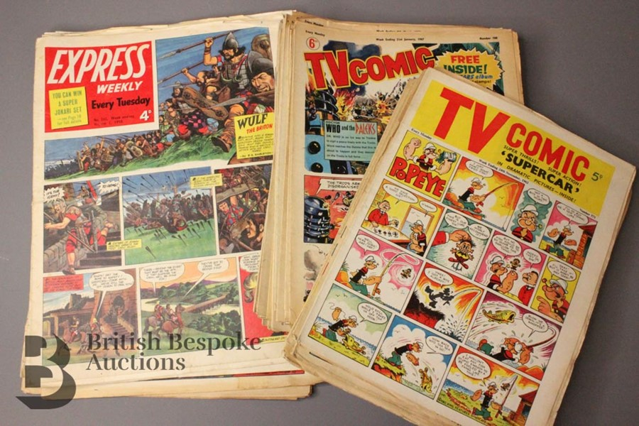 Thirty Five TV Comics 1962-70 - Image 3 of 5